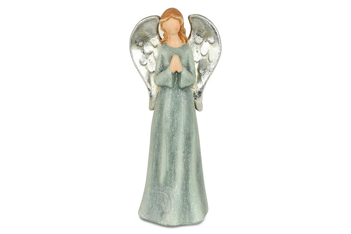 Anjel, mordrý farba, polyresin
