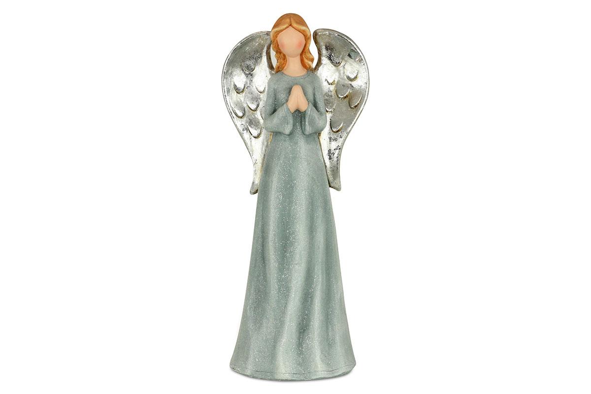 Anjel, modrá farba, magneziová keramika