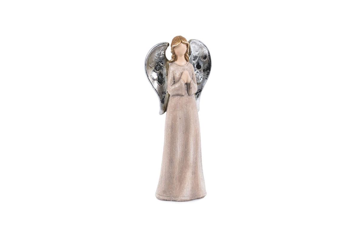Anjel, ružová farba, magneziová keramika