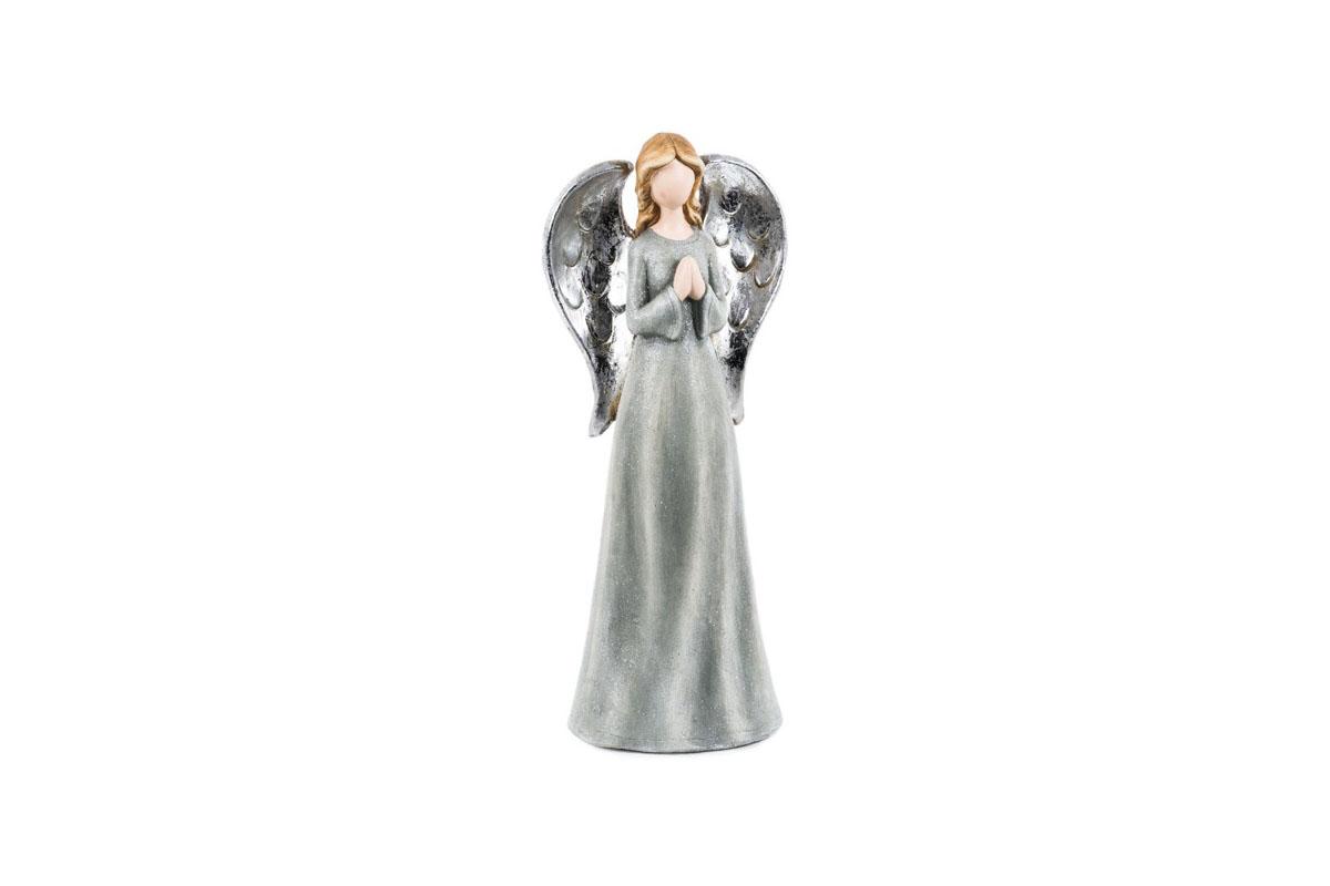 Anjel, šedá farba, magneziová keramika