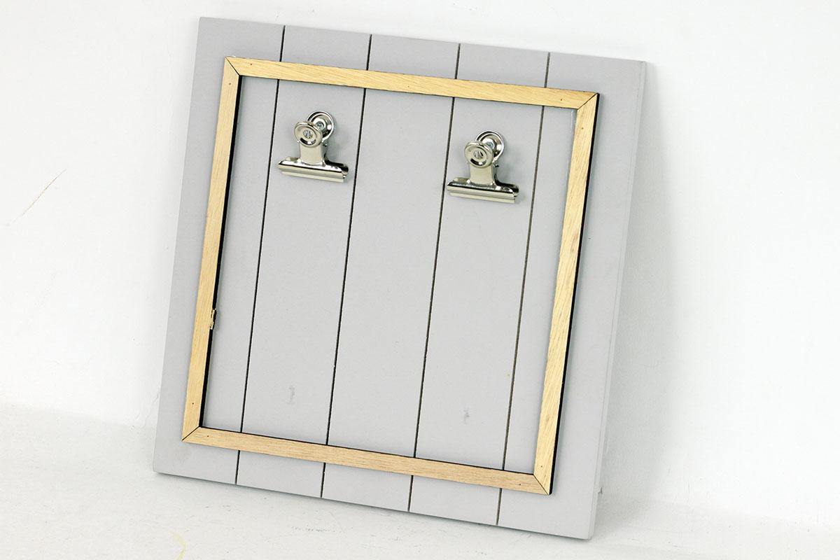 Tabulka na vzkazy, dřevěná dekorace