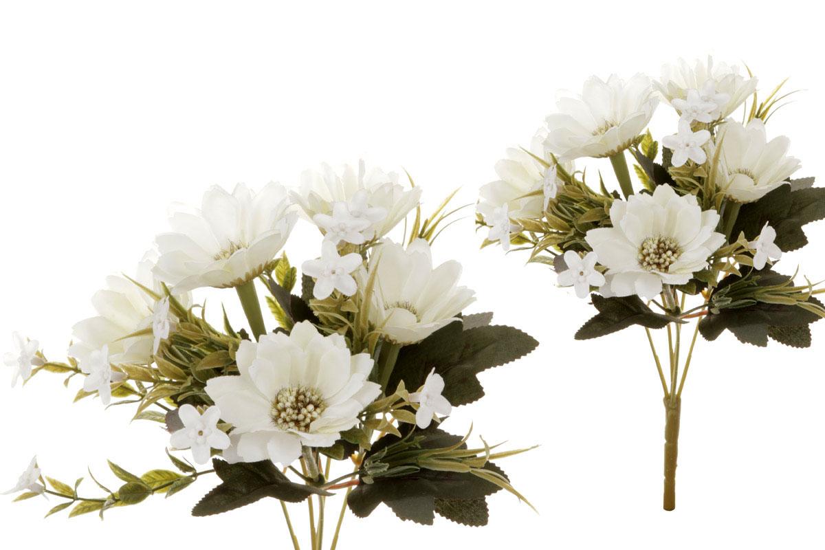 Květina umělá. Kapská kopretina, barva smetanová