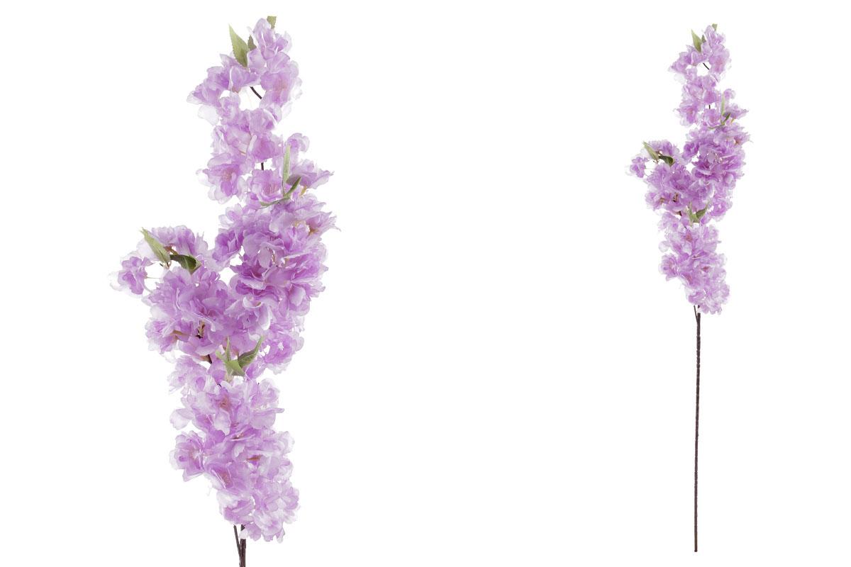 Umelý kvet, kvetey čerešne, farba fialová