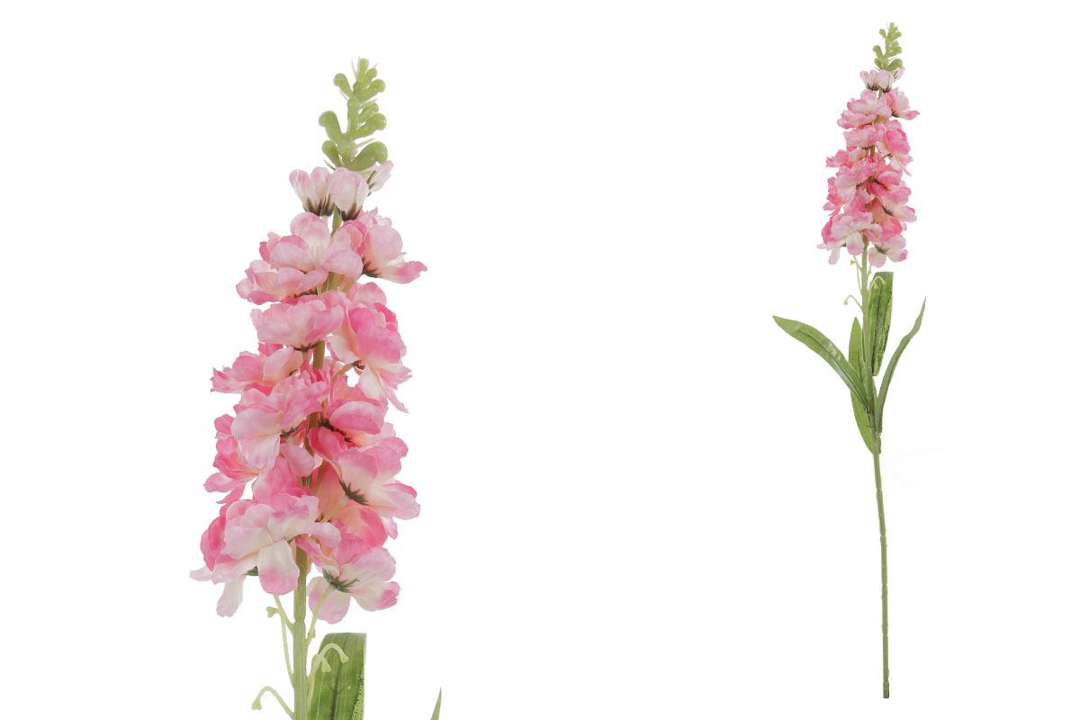 Umelý kvet, ostrôžka, farba ružová