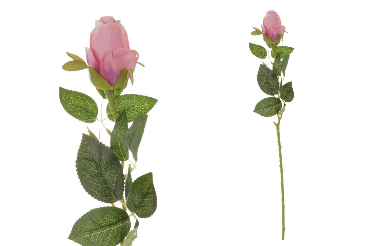 Umelý kvet, ruža, farba ružová