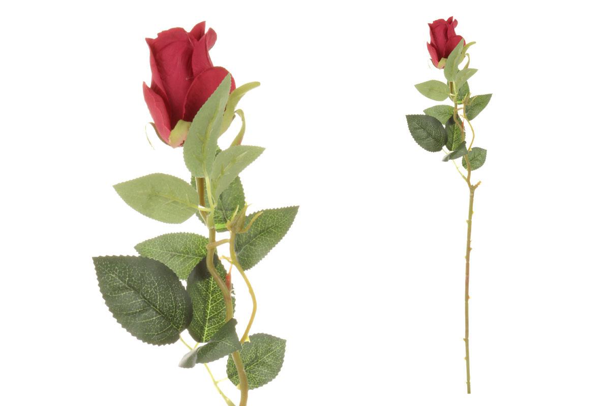 Umelý kvet, ruža, farba červená