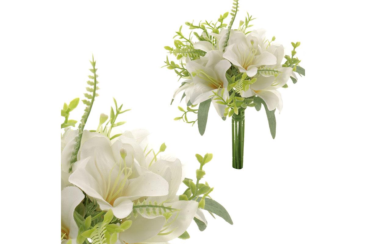 Puget lilií, barva bílá.