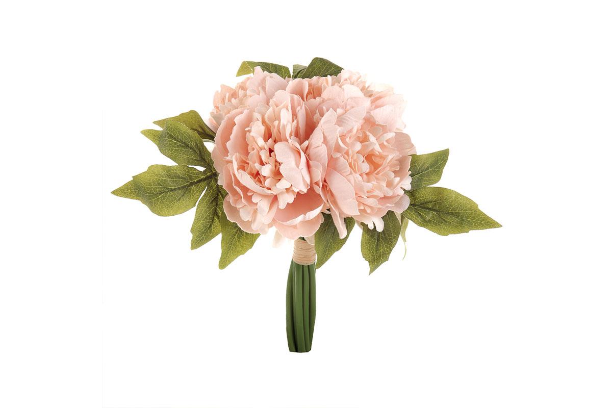Puget pivoněk, barva růžová.