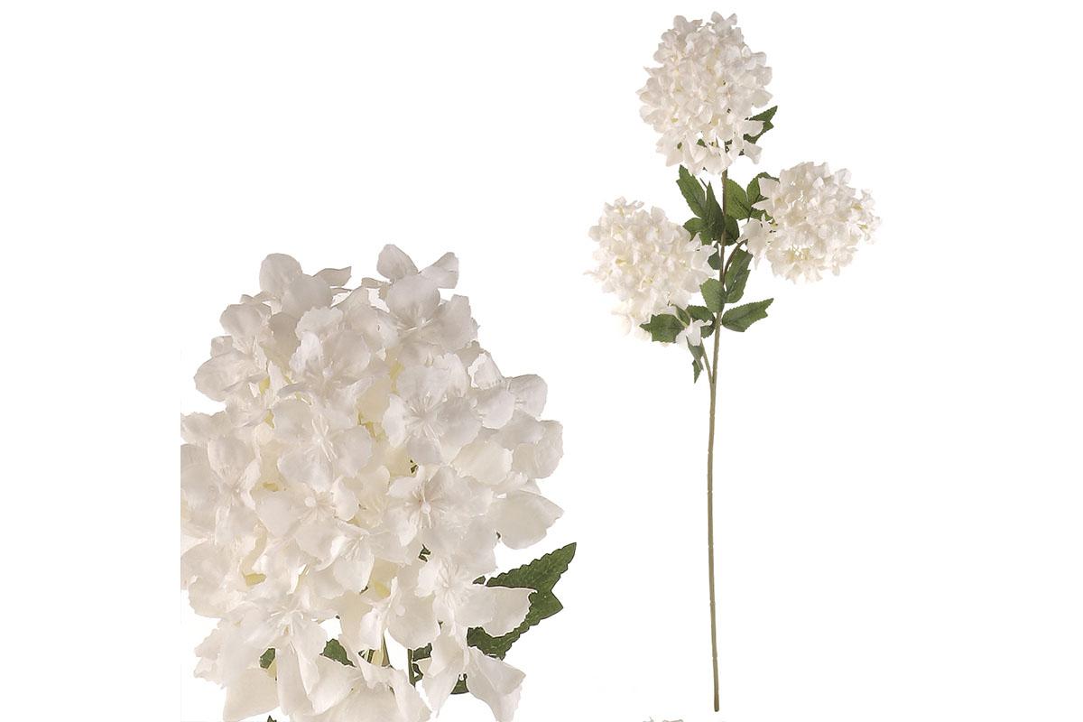 Šeřík, 3 květy, barva bílá.