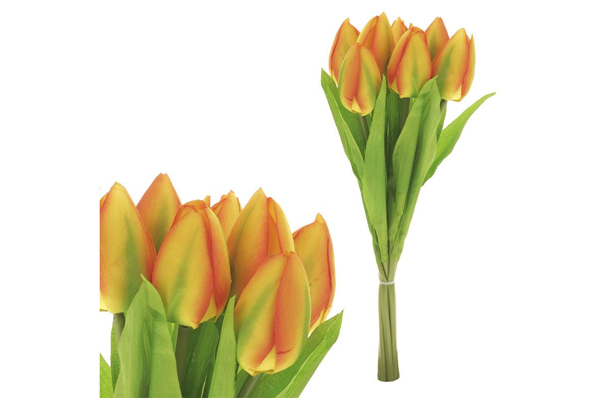 Puget tulipánů, 7 květů, barva žlutá.