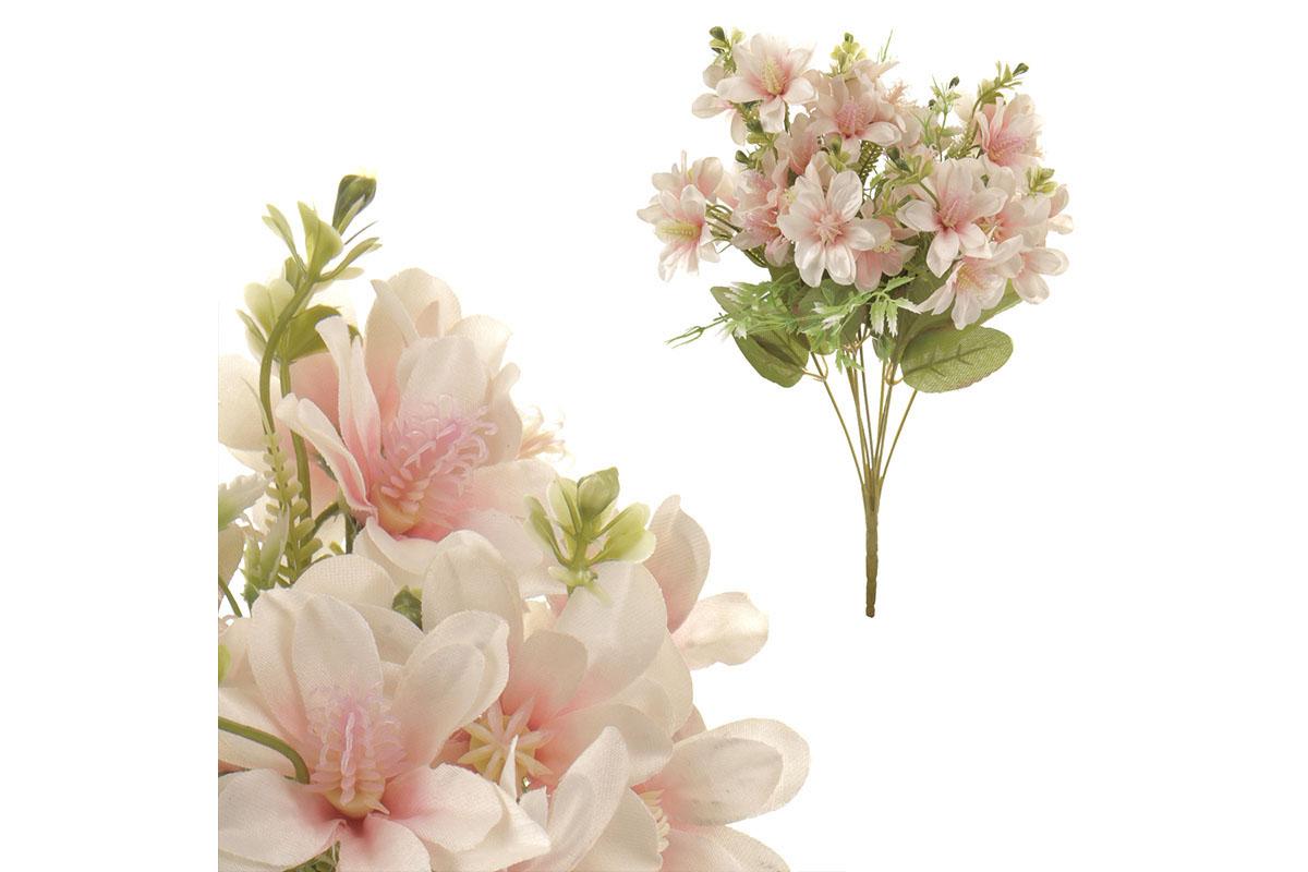 Puget magnolií, barva krémová.