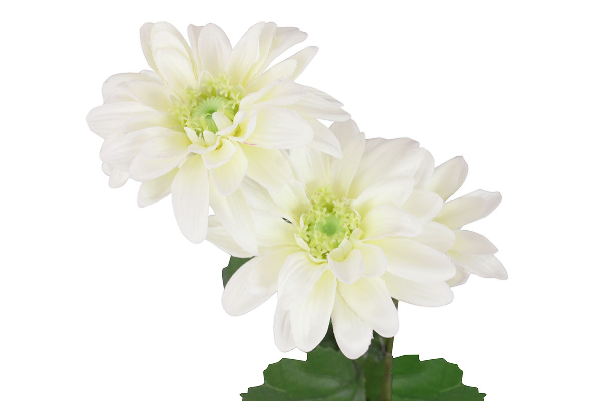 Umělá květina, kopretina, barva bílá
