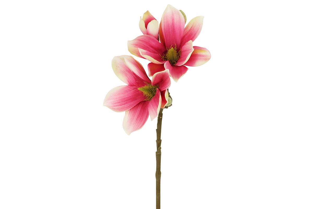 Umělá květina,magnolie barva růžová