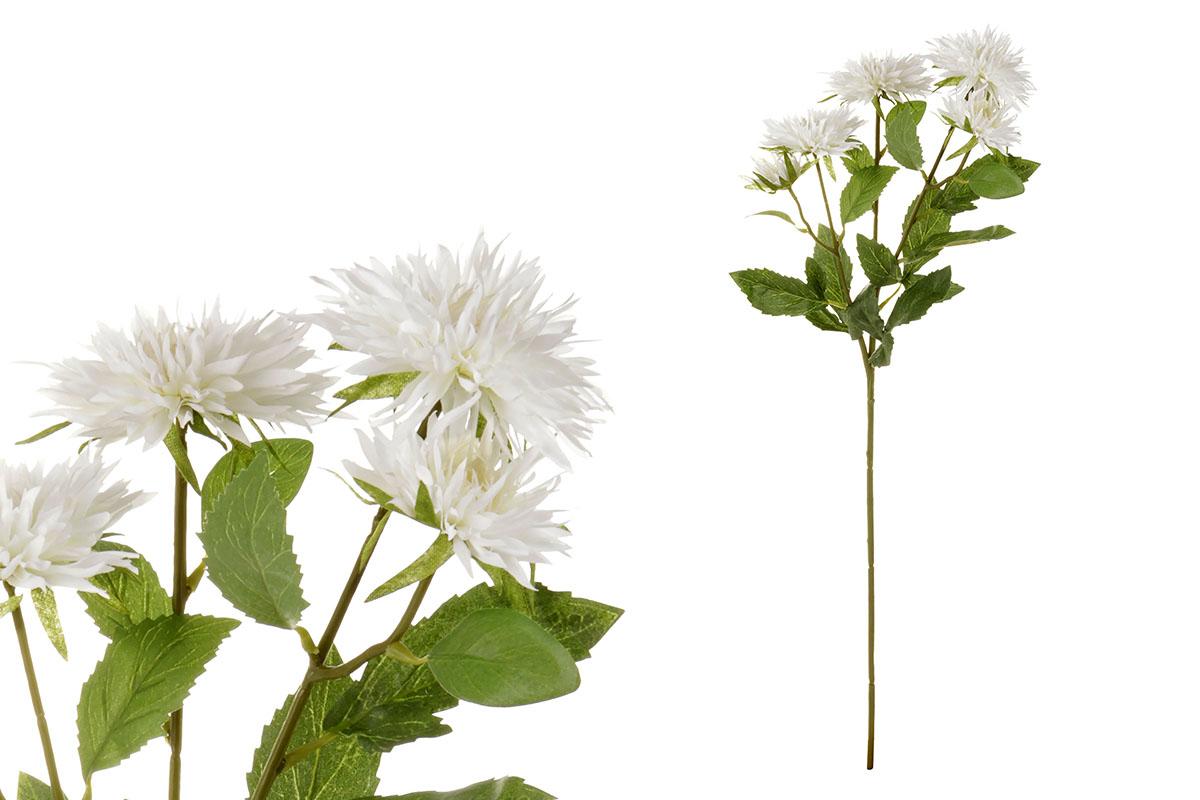 Astra, barva bílá. Květina umělá.