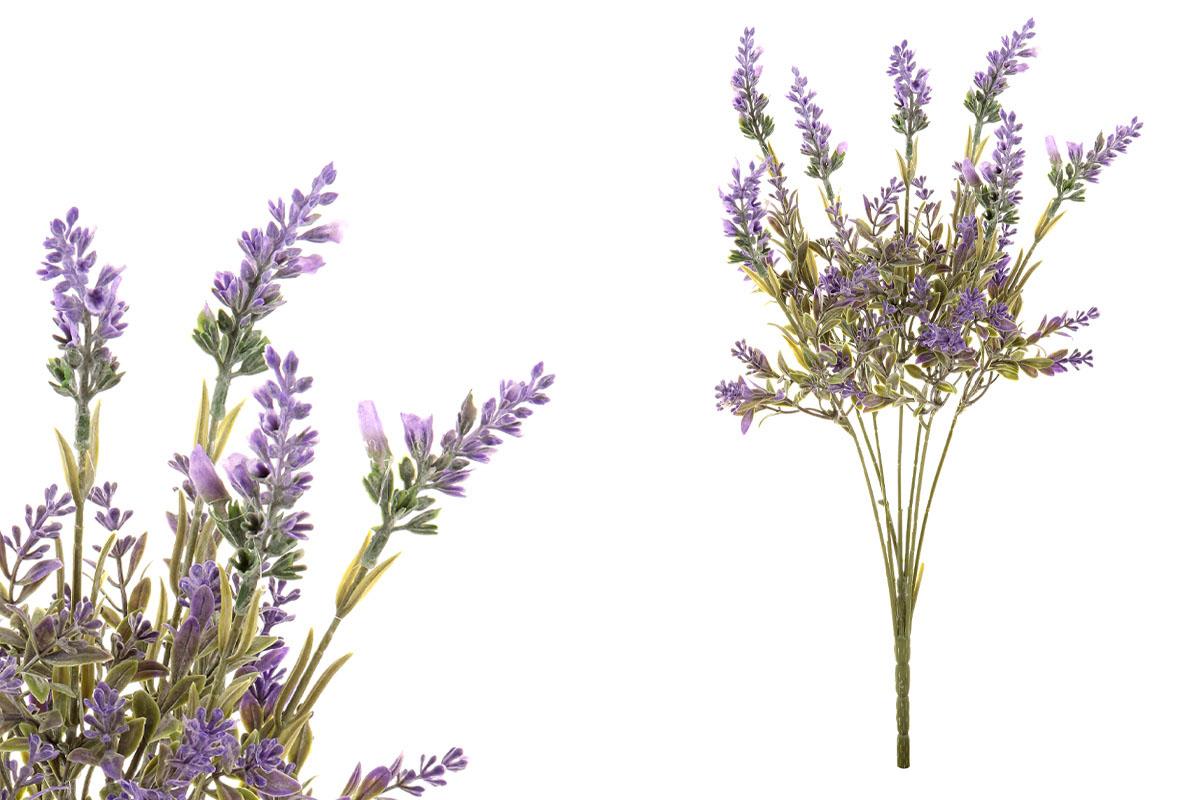 Umelý kvet - levanduľa