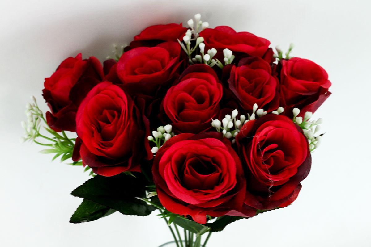 Kytica ruží, farba červená