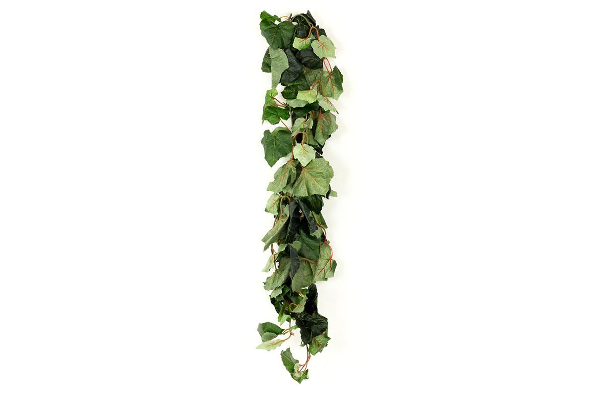 Girlanda - vínne listy, zelená
