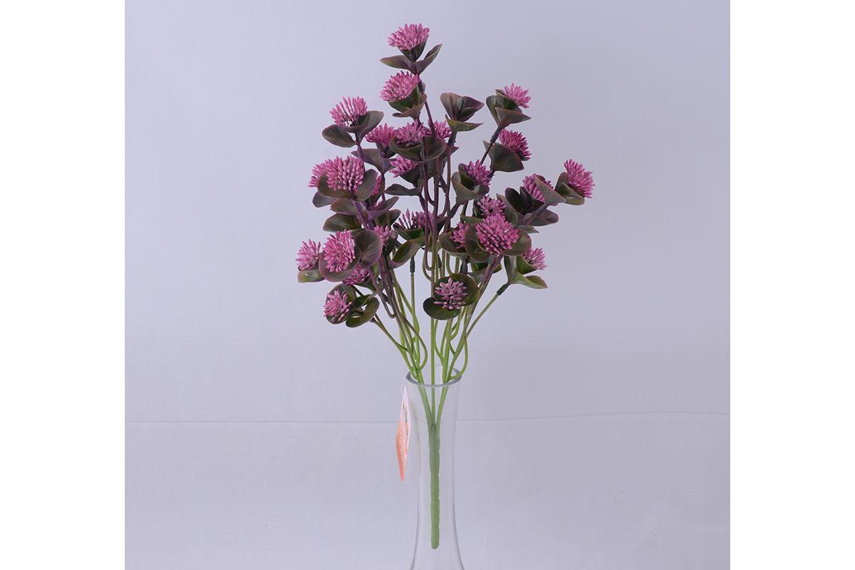 umělá květina, mix 4 barev, cena za 1 kus