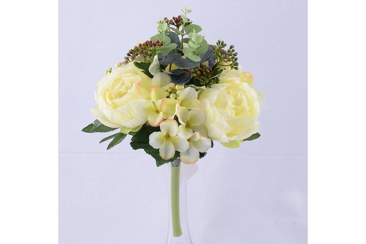 umělá květina, mix 2 barev, cena za 1 kus