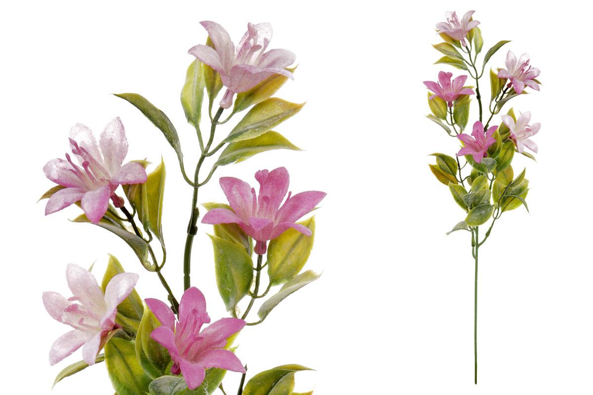 Umělá květina,  lilie,  barva fialová