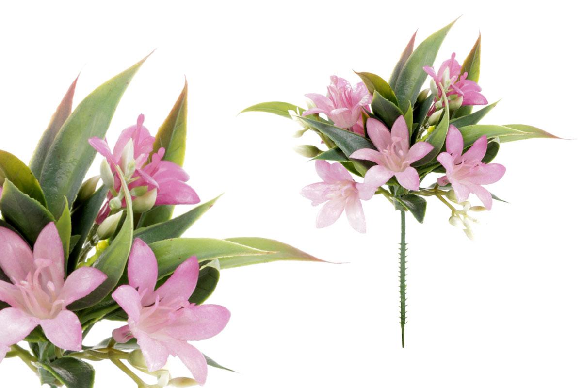 Umělá květina, zvonečky, barva fialová