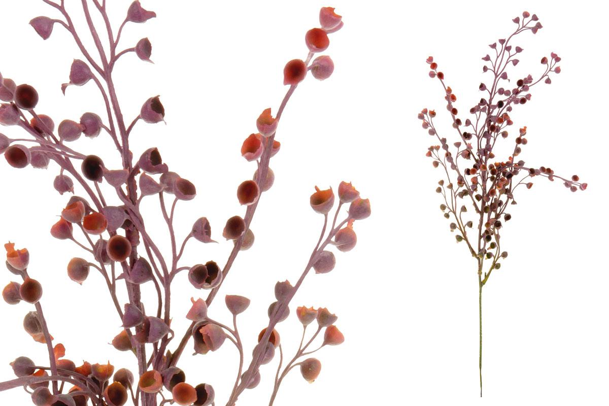 Umělá květina, barva růžovo-fialová