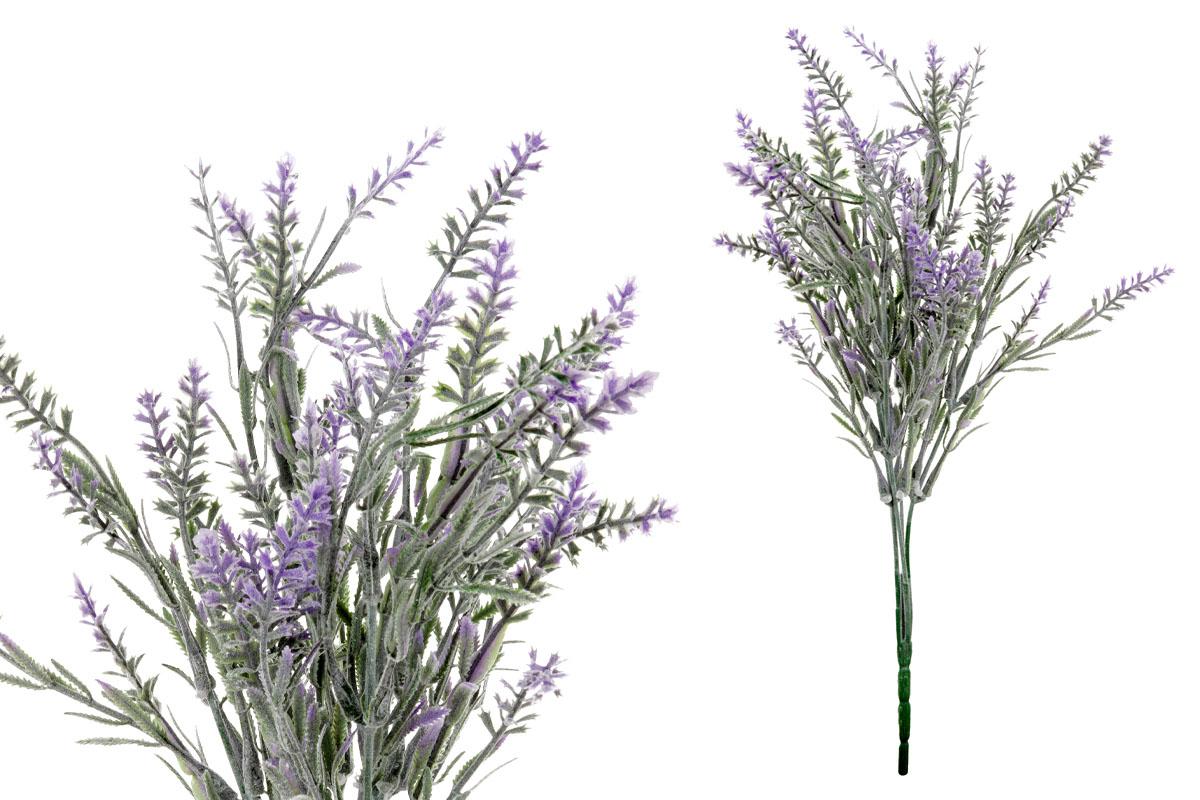 Umělá květina, levandule, barva fialová