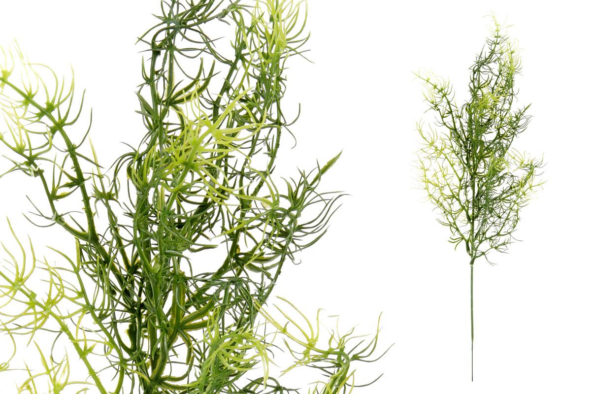 Umělá květina, asparágus, barva zelená
