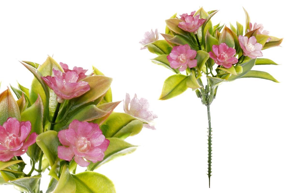 Umělá květina, barva fialová