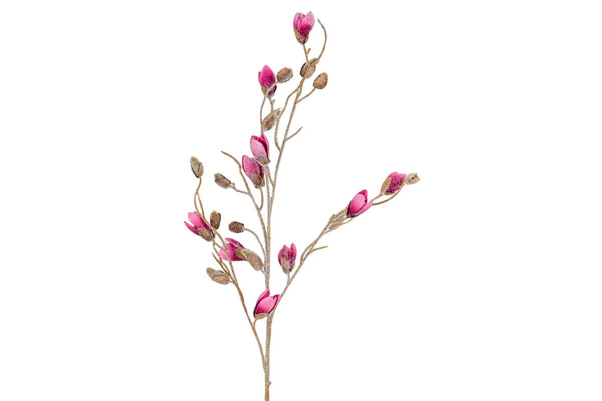 Umelý kvet - farba tmavo ružová