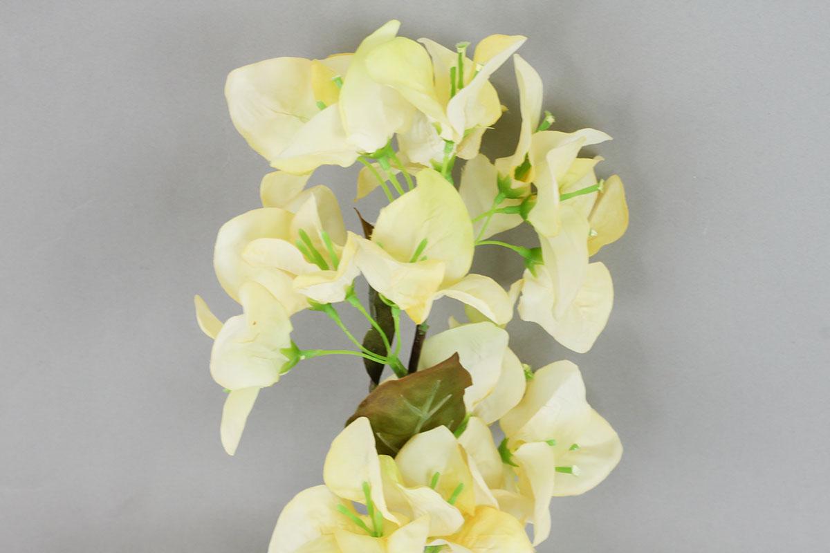 Bugenvilie umělá květina, barva žlutá