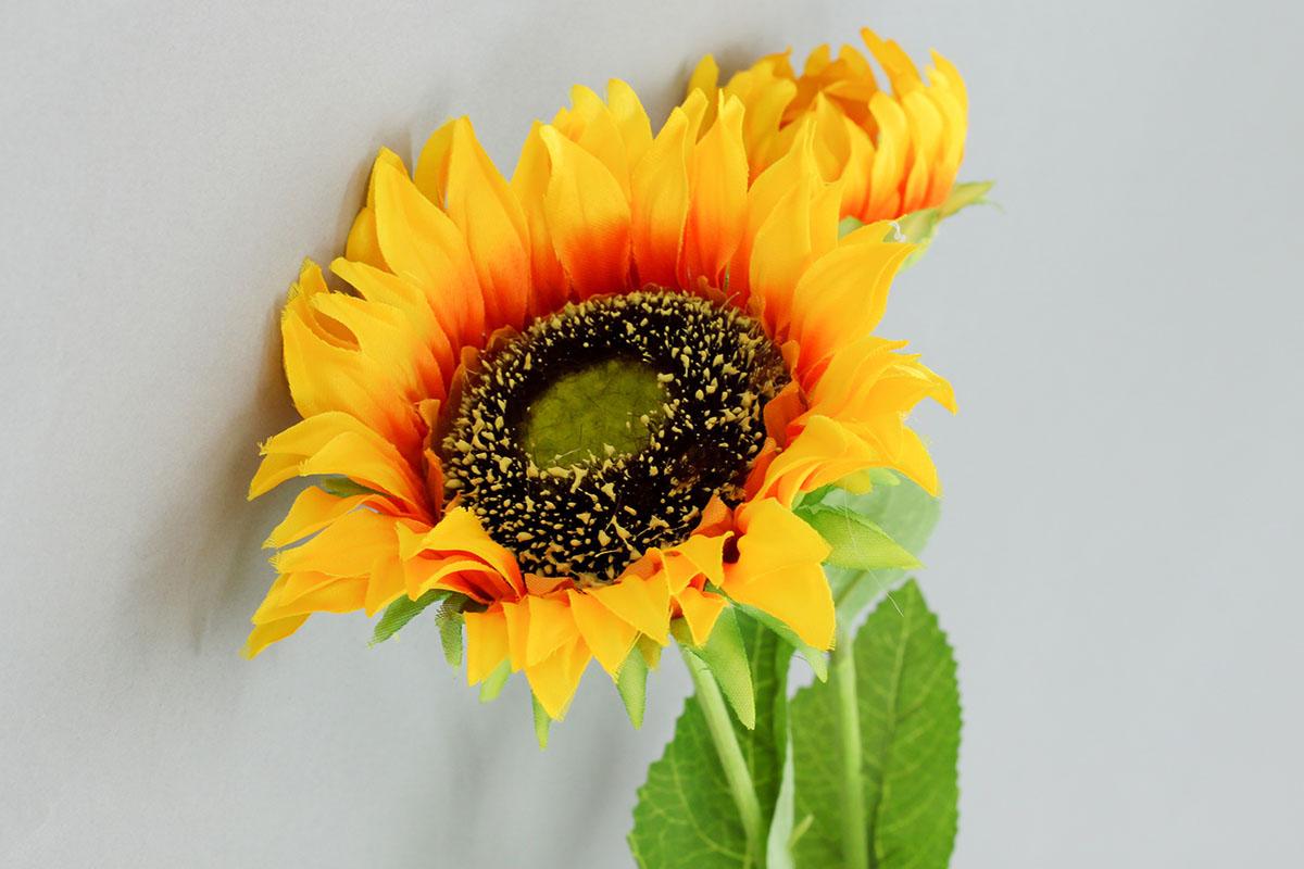 Slunečnice, umělá květina