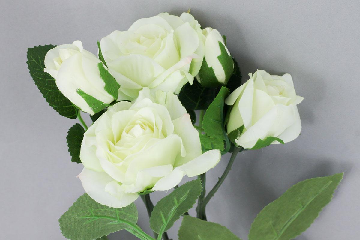 Růže, umělá květina, barva béžová