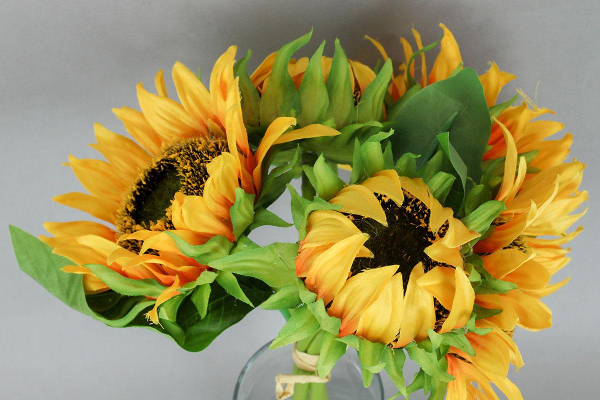 Slunečnice puget, umělá květina