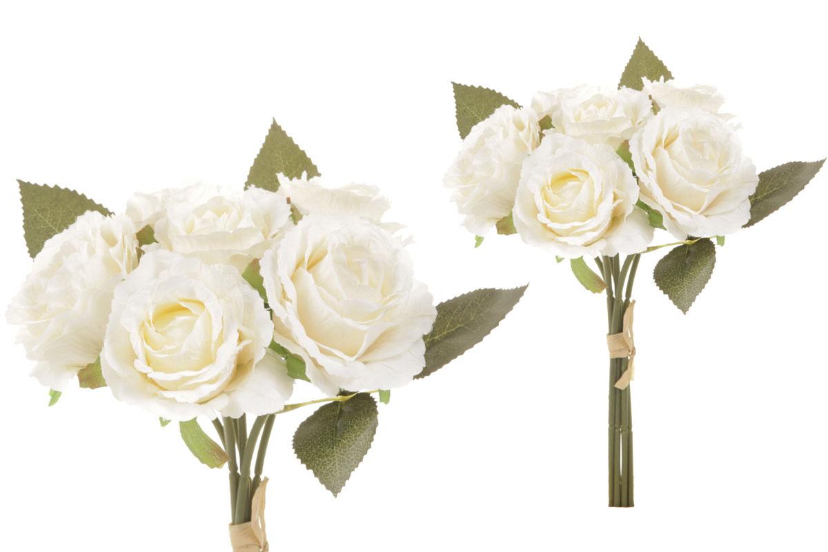 Puget růží - vzhled sušených růží, barva krémová.