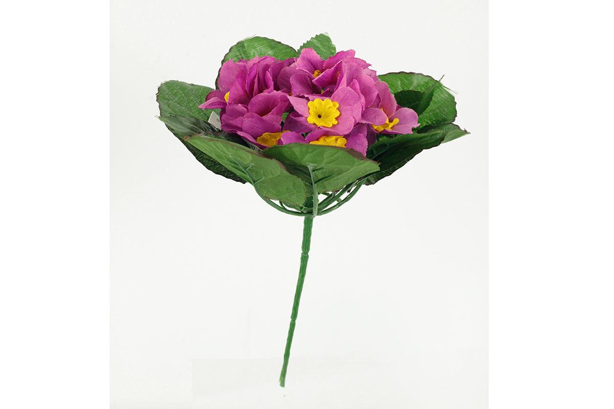 Petrklíč - umělá květina, fialová barva