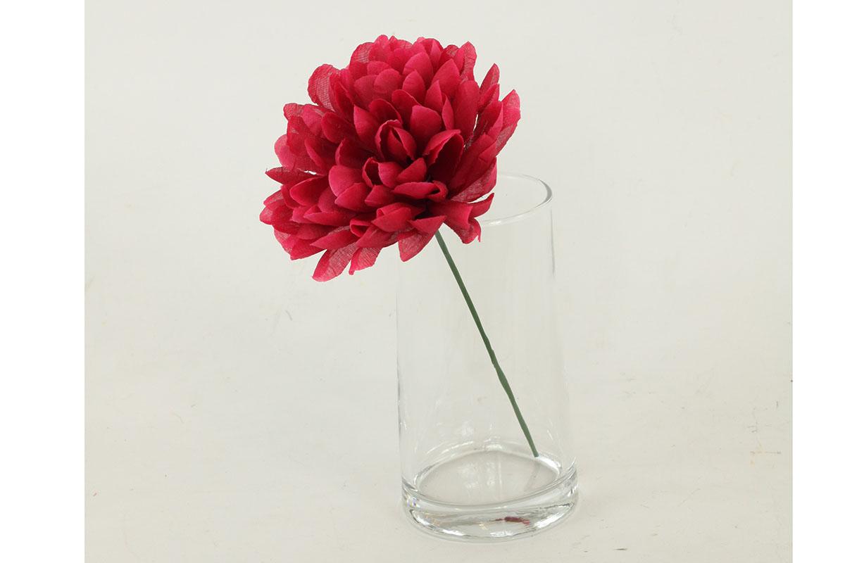 Chryzantéma věncovka, na drátě. Cena za 1ks (balení 12ks polybag)