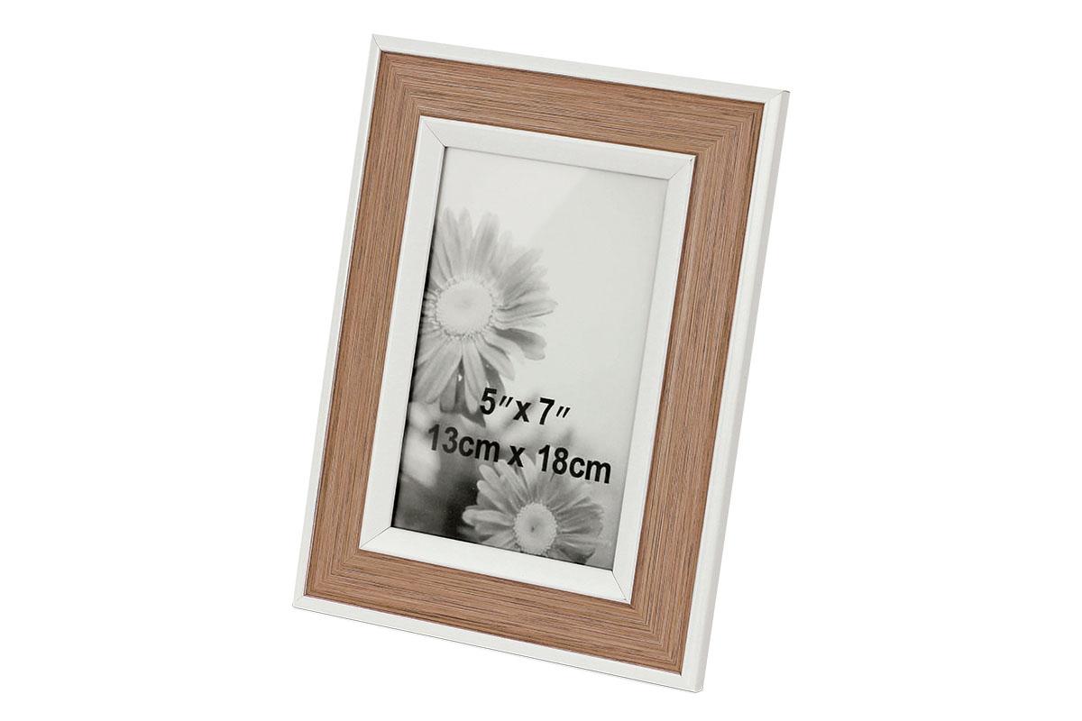 Plastový fotorámik, foto 13x18 cm