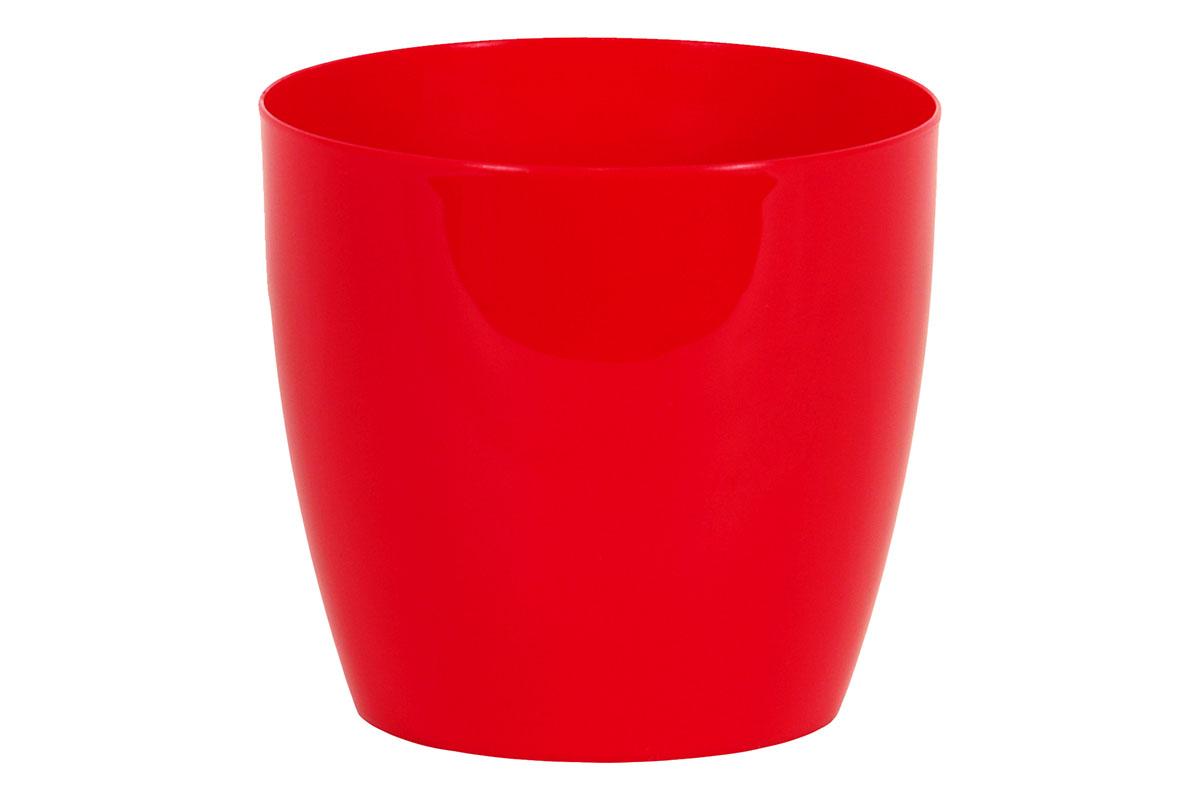 Obal na květiny plastový - barva červená