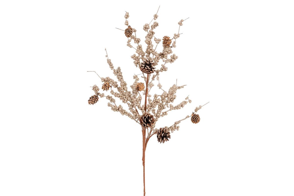 Větev, vánoční umělá dekorace