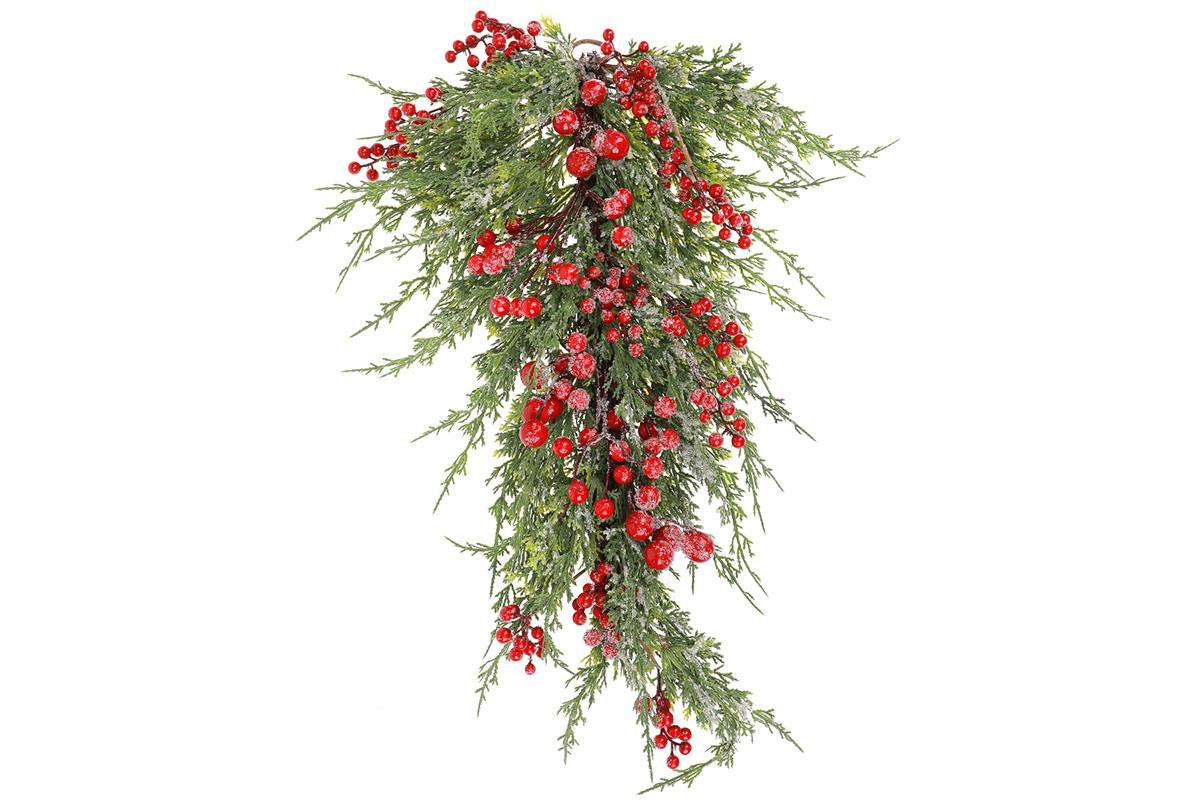 Větev, umělá vánoční dekorace