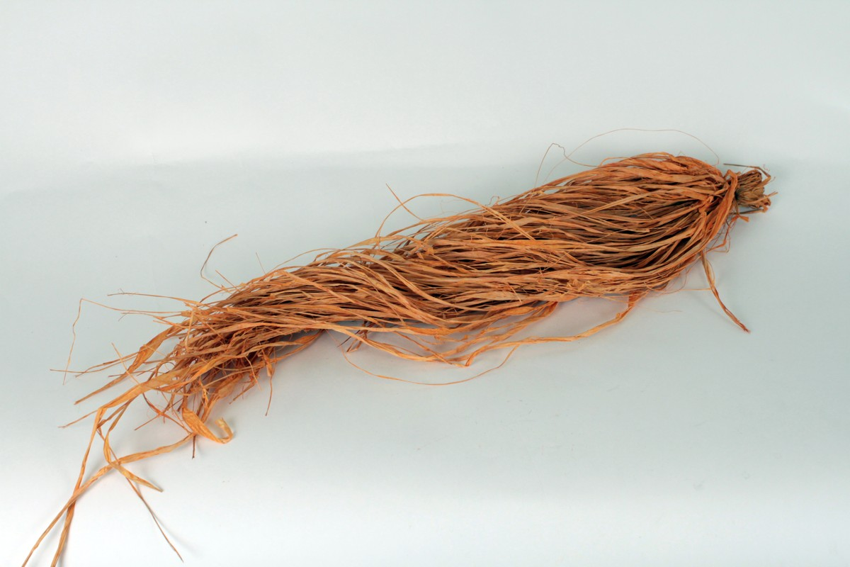 RAFIA - oranžová farba