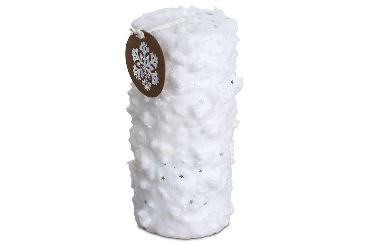 Svíčka vánoční , g vosku, barva bílá