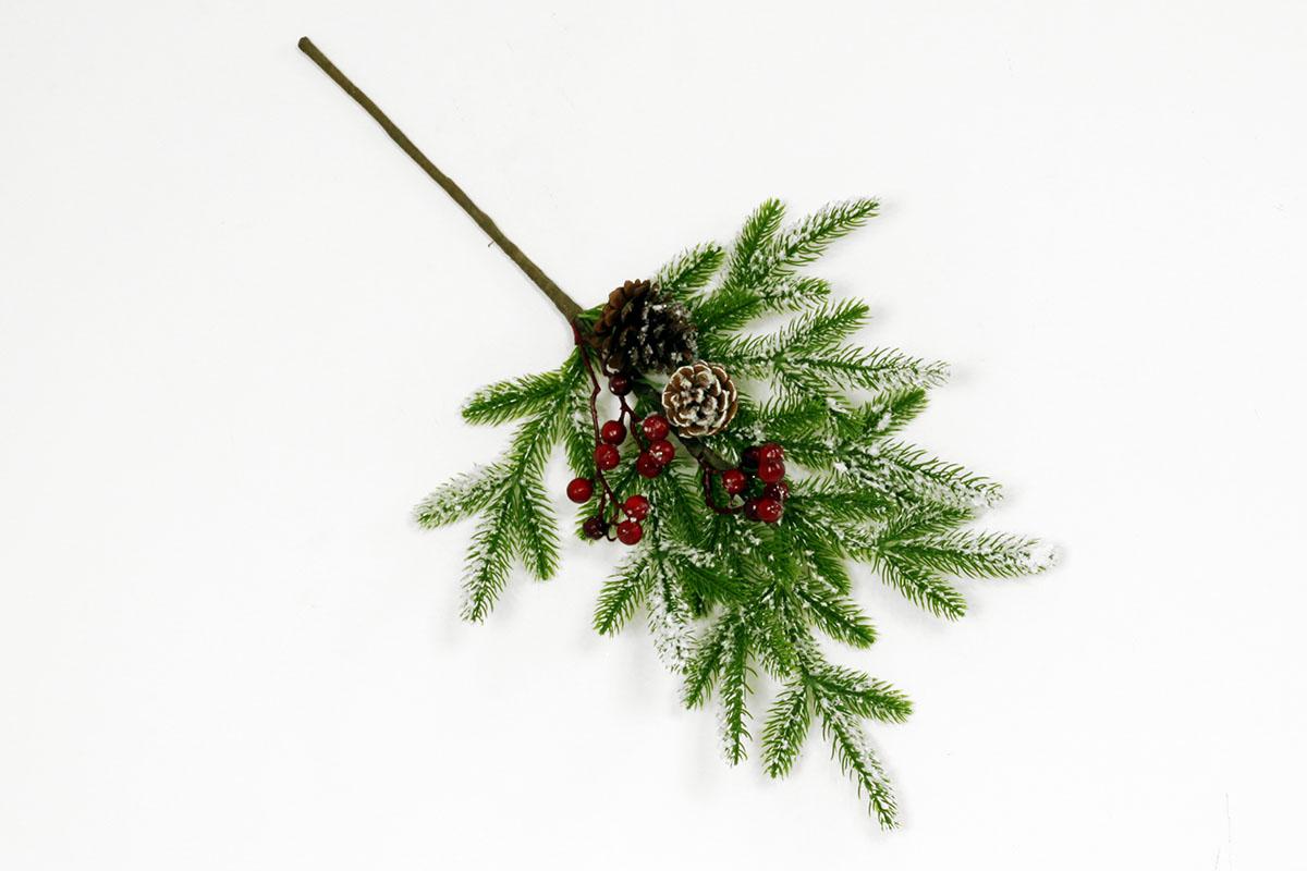 Vetvička, umelá vianočná dekorácia