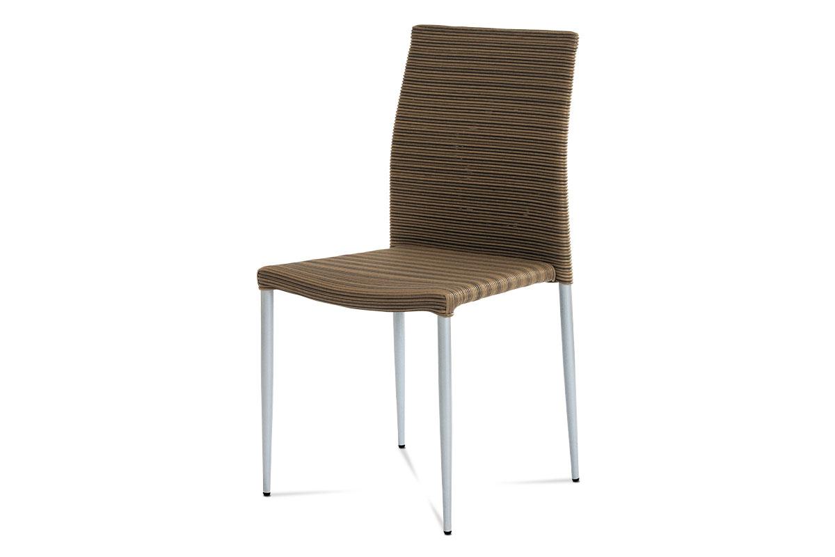 stolička umelý ratan/stohovateľná