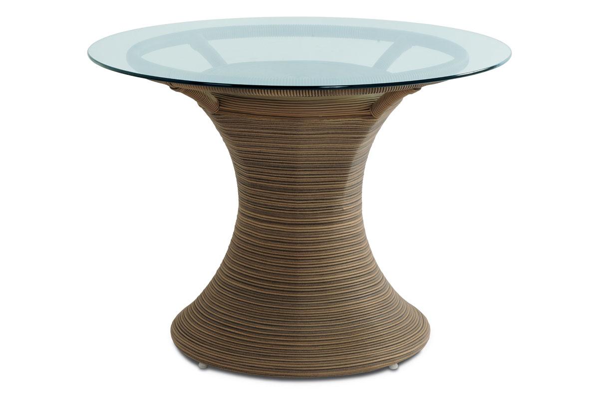 jedálenský stôl umelý ratan BEZ SKLA