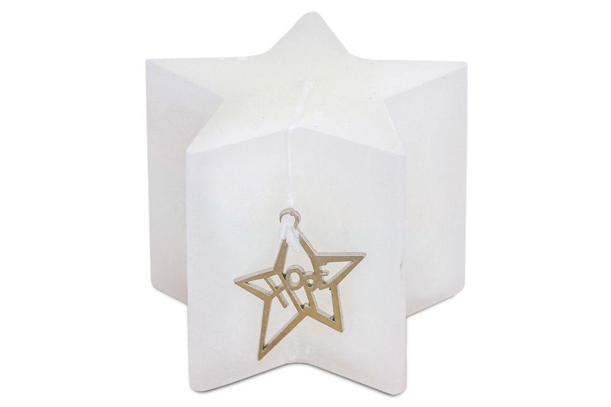 Vianočná sviečka , 135g vosku, vôňa vanilka