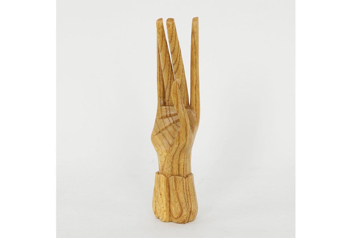 Dřevořezba - ruka