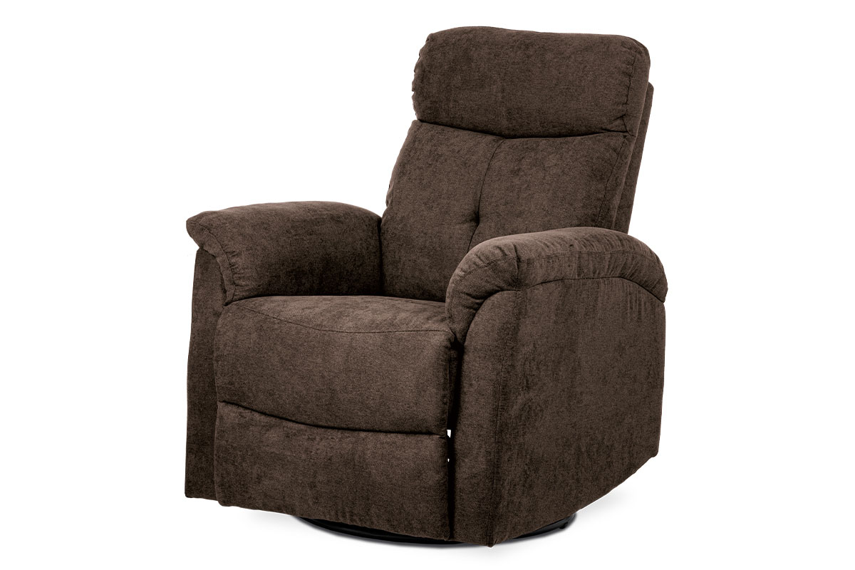 Chair (with Rocker and Swivel), BROWN fabric 0952