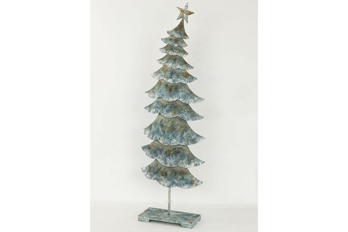 Stromček, kovová dekorácia